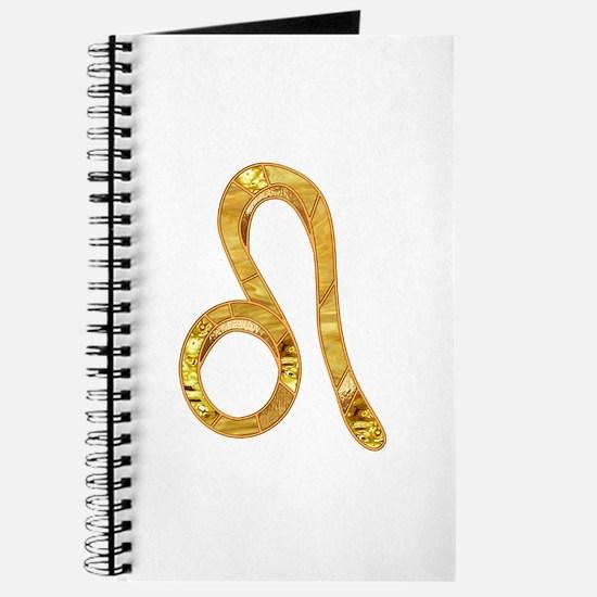 Leo Zodiac Symbol Journal