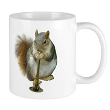 Squirrel with Horn Small Mug