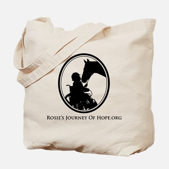Cute Therapy horses Tote Bag