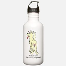 Neuter Dog Water Bottle