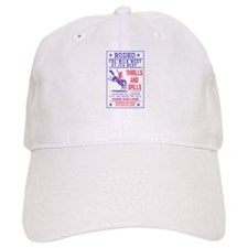 Cowboy riding bronco Baseball Cap