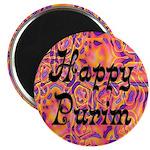"""Happy Purim 2.25"""" Magnet (100 pack)"""