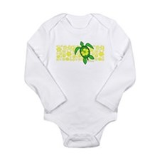 Hawaii Turtle Long Sleeve Infant Bodysuit