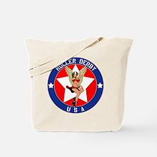 ROLLER DERBY U.S.A. Tote Bag