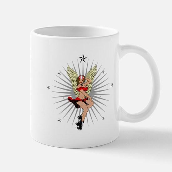 ROLLER DERBY GIRL Mug