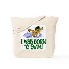 Born to Swim Jacob Tote Bag