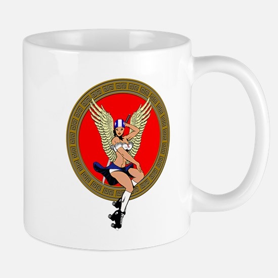 JAPANESE SHCOOLGIRL ROLLER VIXEN Mug