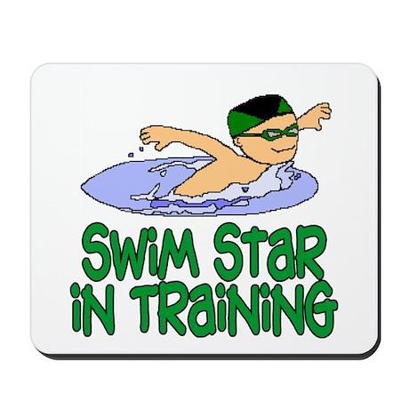 Swim Star in Training Andrew Mousepad
