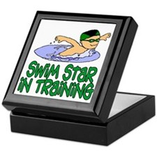 Swim Star in Training Andrew Keepsake Box