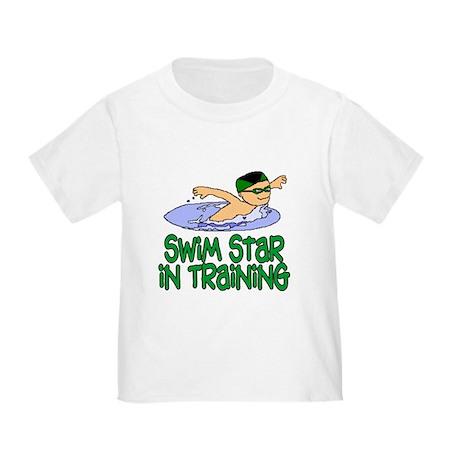 Swim Star in Training Andrew Toddler T-Shir