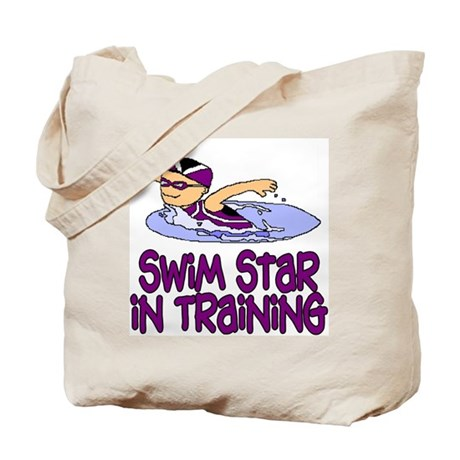 Swim Star in Training Isabella Tote Bag
