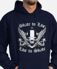 LIVE TO SKATE Hoody