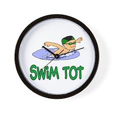 Swim Tot Andrew Wall Clock