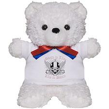 LIVE TO SKATE Teddy Bear