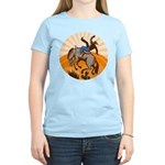 cowboy riding horse Women's Light T-Shirt