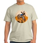 cowboy riding horse Light T-Shirt