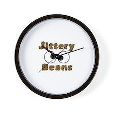 Jittery Beans Wall Clock