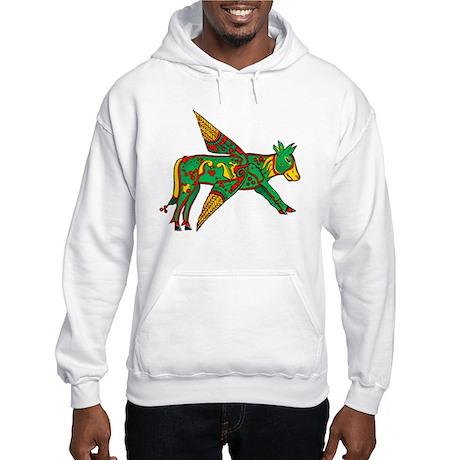 Celtic Winged Bull Hooded Sweatshirt