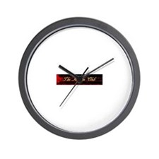 The Asylum Club Wall Clock