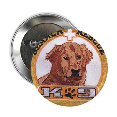 """Search and Rescue K9 2.25"""" Button (100 pack)"""