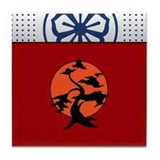Miyagi-Do Tile Coaster