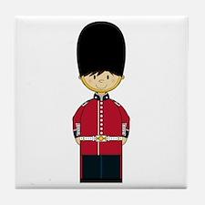 British Royal Guard Tile Coaster