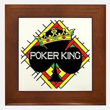 Poker King/Crown Framed Tile