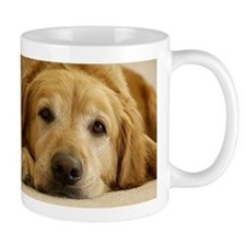 Golden Retriever Mug: Need Morning Coffee!