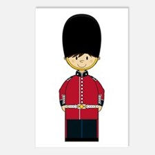 British Royal Guard Postcard (Pk of 8)