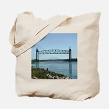 Cape Cod Canal Bridges Tote Bag