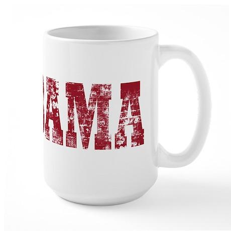 Vintage Alabama Large Mug