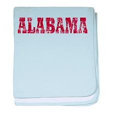 Vintage Alabama Infant Blanket