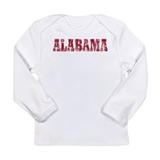 Vintage Alabama Long Sleeve Infant T-Shirt