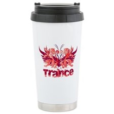 Heraldry Trance Stainless Steel Travel Mug
