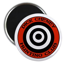 Dick Cheney Hunting Club Magnet