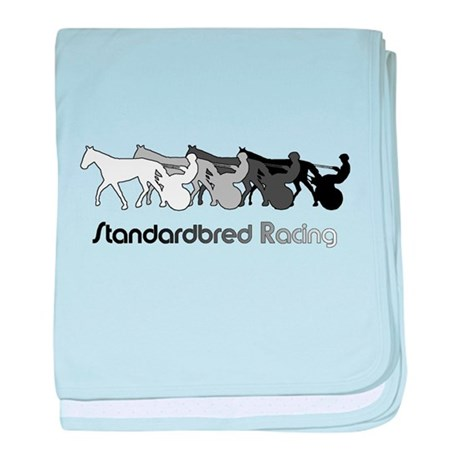 Racing Silhouette Infant Blanket