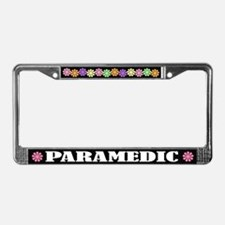 Paramedic License Plate Frame
