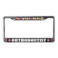 Orthodontist License Plate Frame