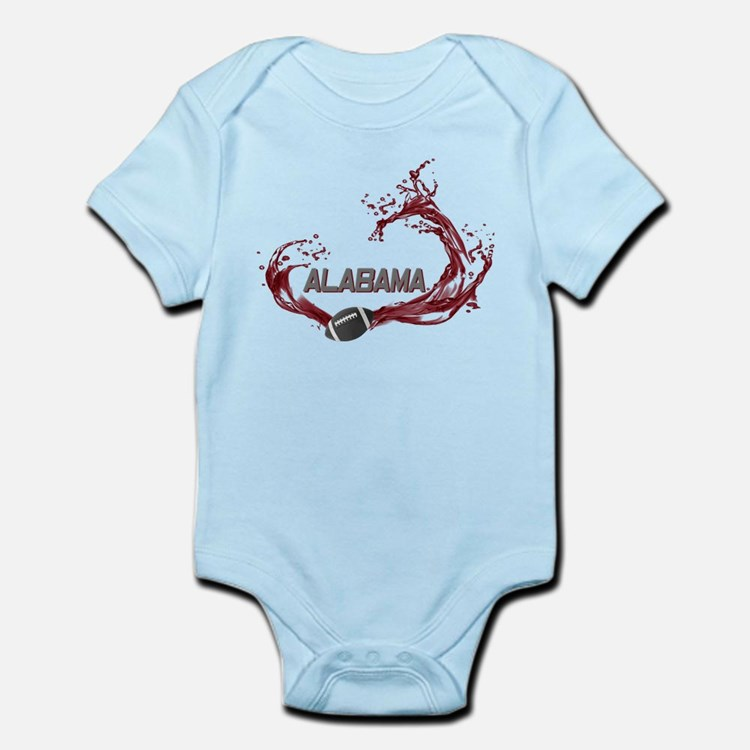 Crimson Tide Football Infant Bodysuit