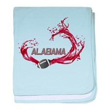 Crimson Tide Football Infant Blanket