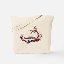 Crimson Tide Football Tote Bag