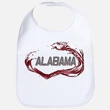 Alabama Crimson Tide Bib