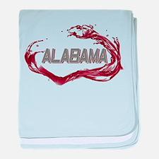 Alabama Crimson Tide Infant Blanket