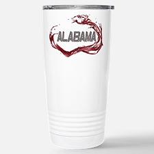 Alabama Crimson Tide Stainless Steel Travel Mug