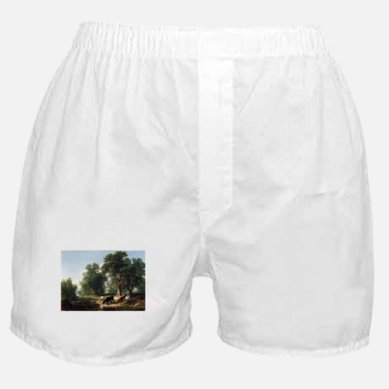 Asher Brown Durand Summer Afternoon Boxer Shorts