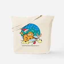 Odie Reindeer Tote Bag