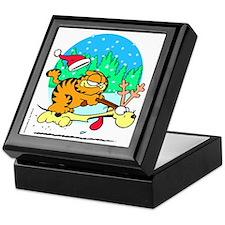 Odie Reindeer Keepsake Box