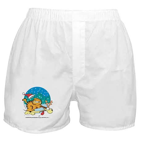 Odie Reindeer Boxer Shorts