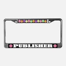 Publisher License Plate Frame
