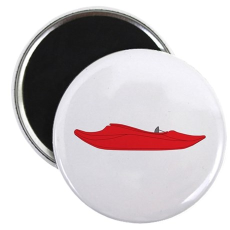 """Red Playboat 2.25"""" Magnet (100 pack)"""